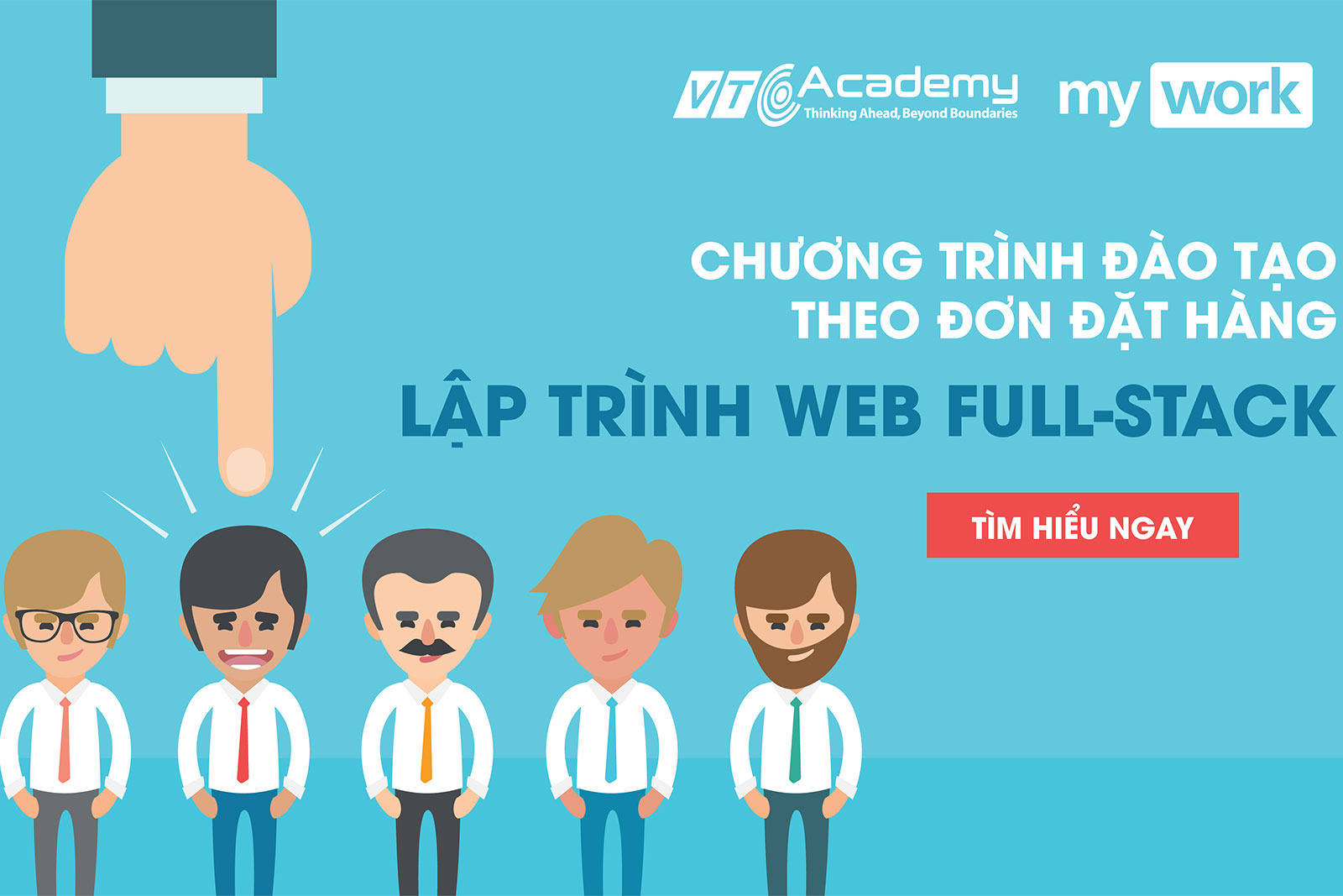 VTC Academy tuyển sinh theo đơn đặt hàng của doanh nghiệp