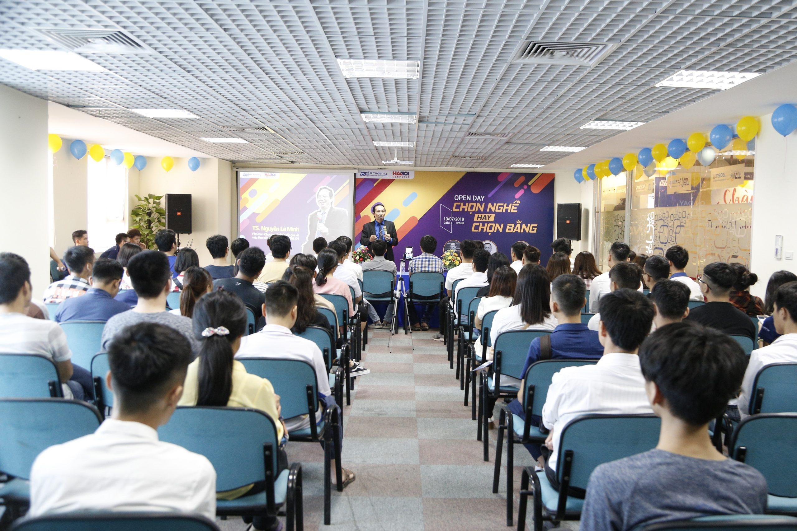 VTC Academy tổ chức ngày hội Open Day 2018 tại Hà Nội