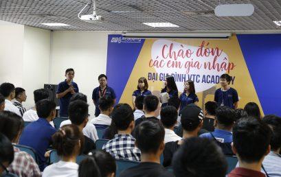 """Tân sinh viên hào hứng tham dự """"Ngày tựu trường"""" tại VTC Academy"""