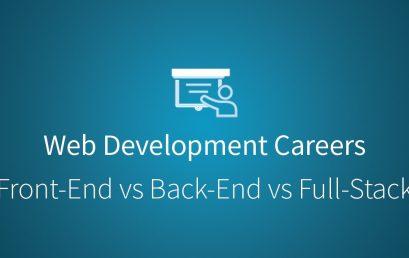 Tất tần tật về 3 vị trí lập trình viên web: Front-End, Back-End và Full Stack