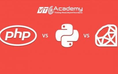 Thiết kế web nên chọn ngôn ngữ lập trình nào: PHP, Python hay Ruby?
