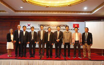 Tập đoàn tài chính Hana Hàn Quốc hợp tác với VTC Academy và VTC Online đào tạo nhân tài CNTT của Việt Nam