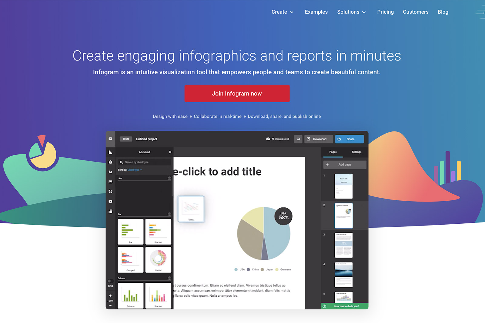 Professional Infographic design with 8 free tools