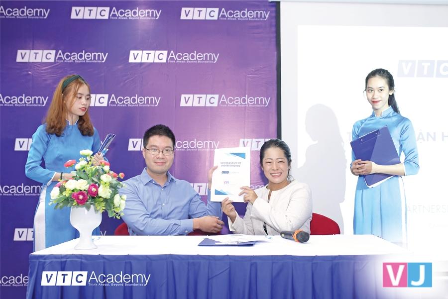 VTC Academy ký thỏa thuận hợp tác cùng các doanh nghiệp lớn