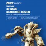 """VTC Academy tổ chức workshop """"3D Game Character Design"""" tại Hà Nội"""