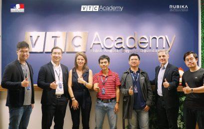 VTC Academy vinh dự đón đại diện của Đại sứ quán Pháp tại Việt Nam và đại diện Rubika – trường đào tạo 3D Animation Top 2 thế giới