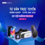 VTC Academy tổ chức chuỗi sự kiện Tư vấn trực tuyến Hướng nghiệp – Tuyển sinh 2020