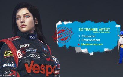 Bombus tuyển dụng thực tập sinh 3D Artist