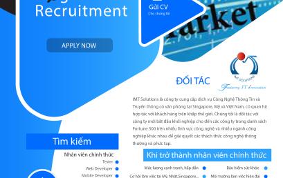 IMT Solutions tuyển dụng thực tập sinh lập trình nhiều vị trí