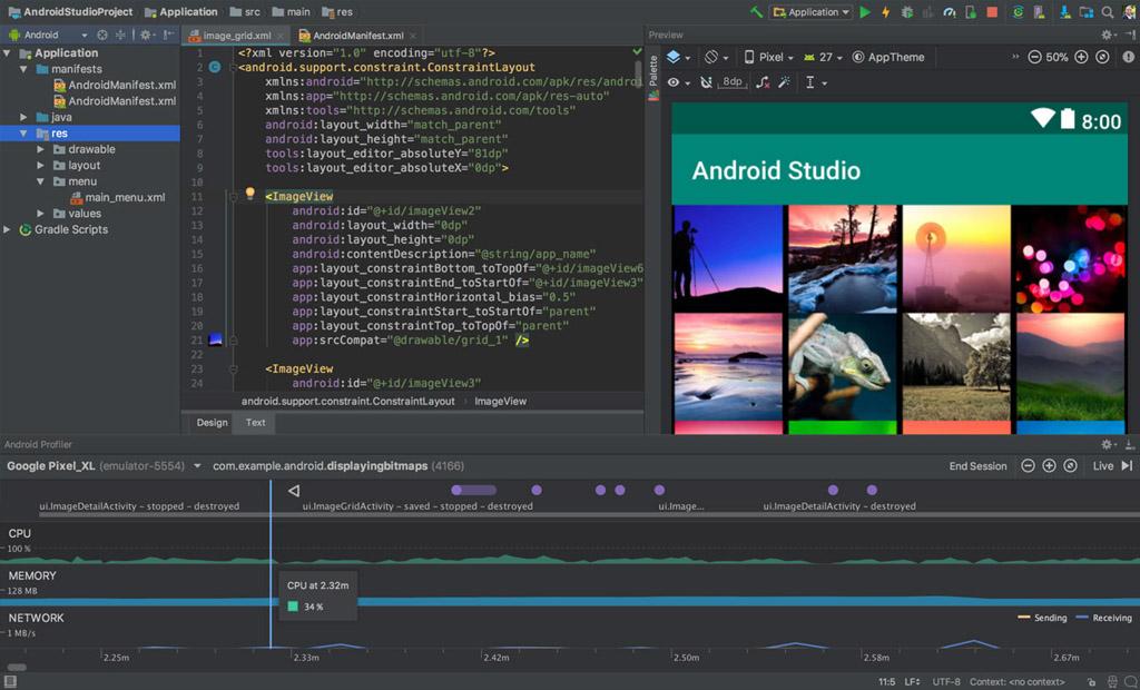 11 hệ điều hành & trình giả lập Android tốt nhất năm 2020: Android Studio