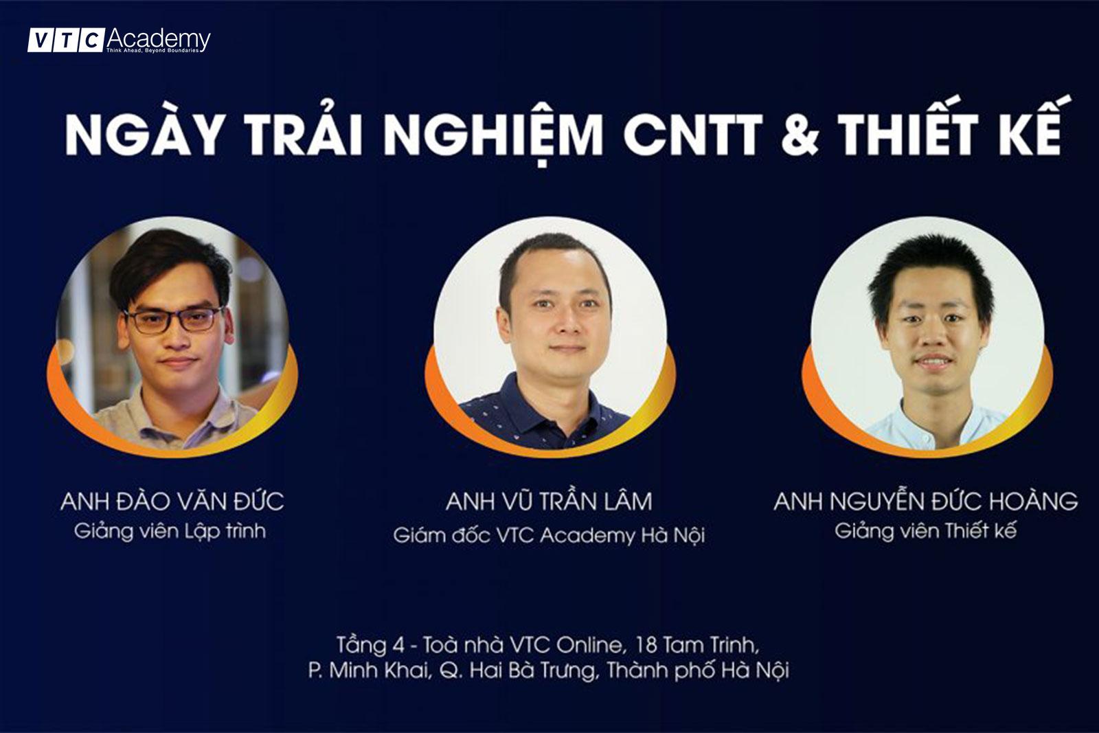 Ngày trải nghiệm CNTT & Thiết kế 2020 lần một tại Hà Nội