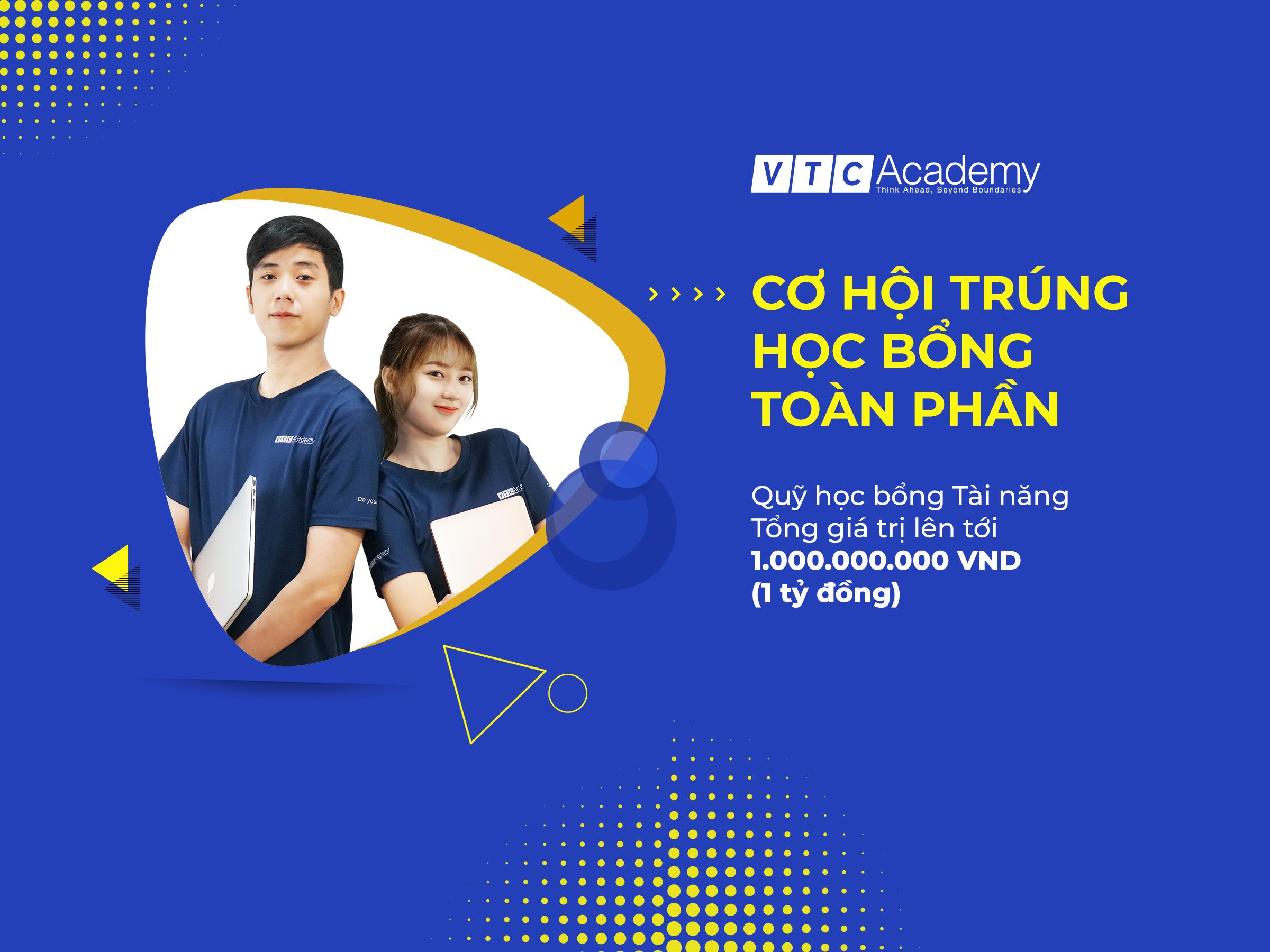 """VTC Academy chính thức triển khai chương trình """"Học bổng tài năng 2020"""""""