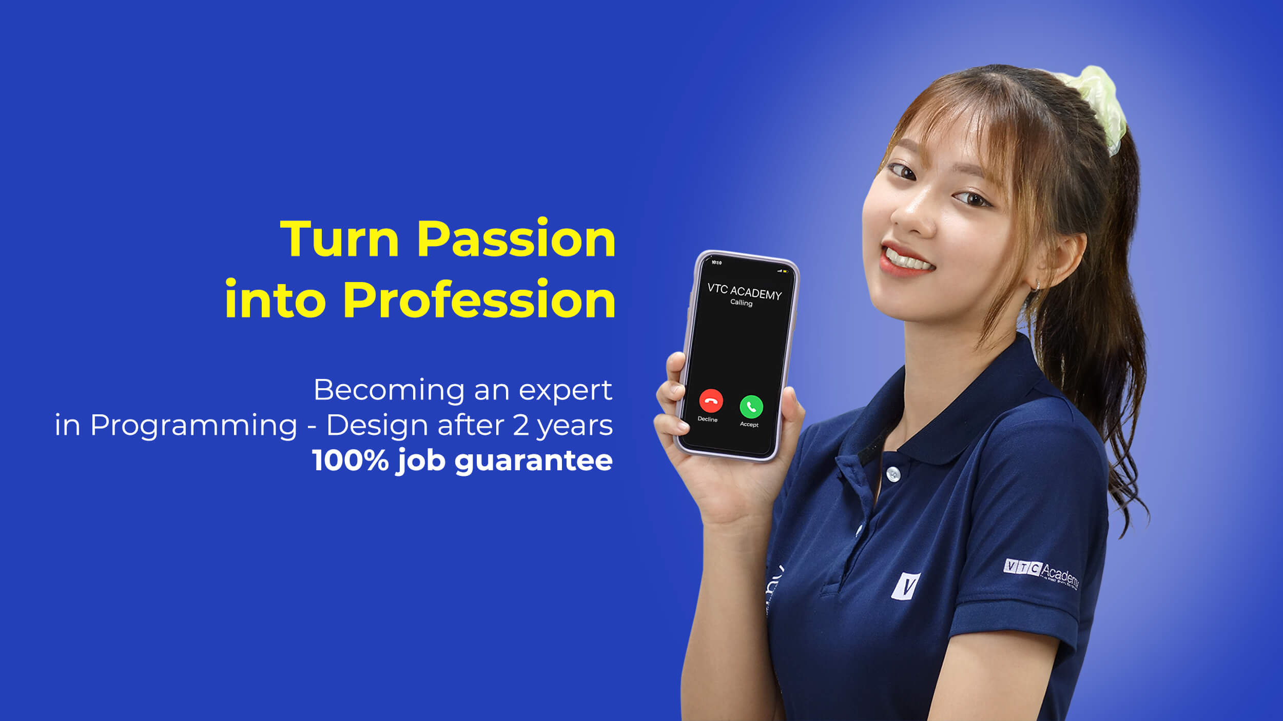 Turning passion into career