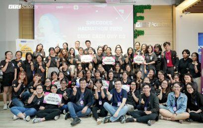 """VTC Academy đồng tổ chức """"SheCodes Hackathon 2020 – Code cách quý cô"""": Thực thi sứ mệnh phát triển nguồn nhân lực CNTT và tôn vinh tinh thần bình đẳng giới"""