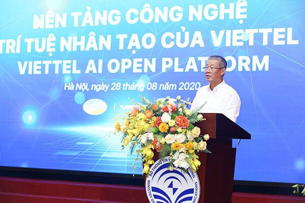 Bộ TT&TT ra mắt nền tảng công nghệ AI dành cho người Việt