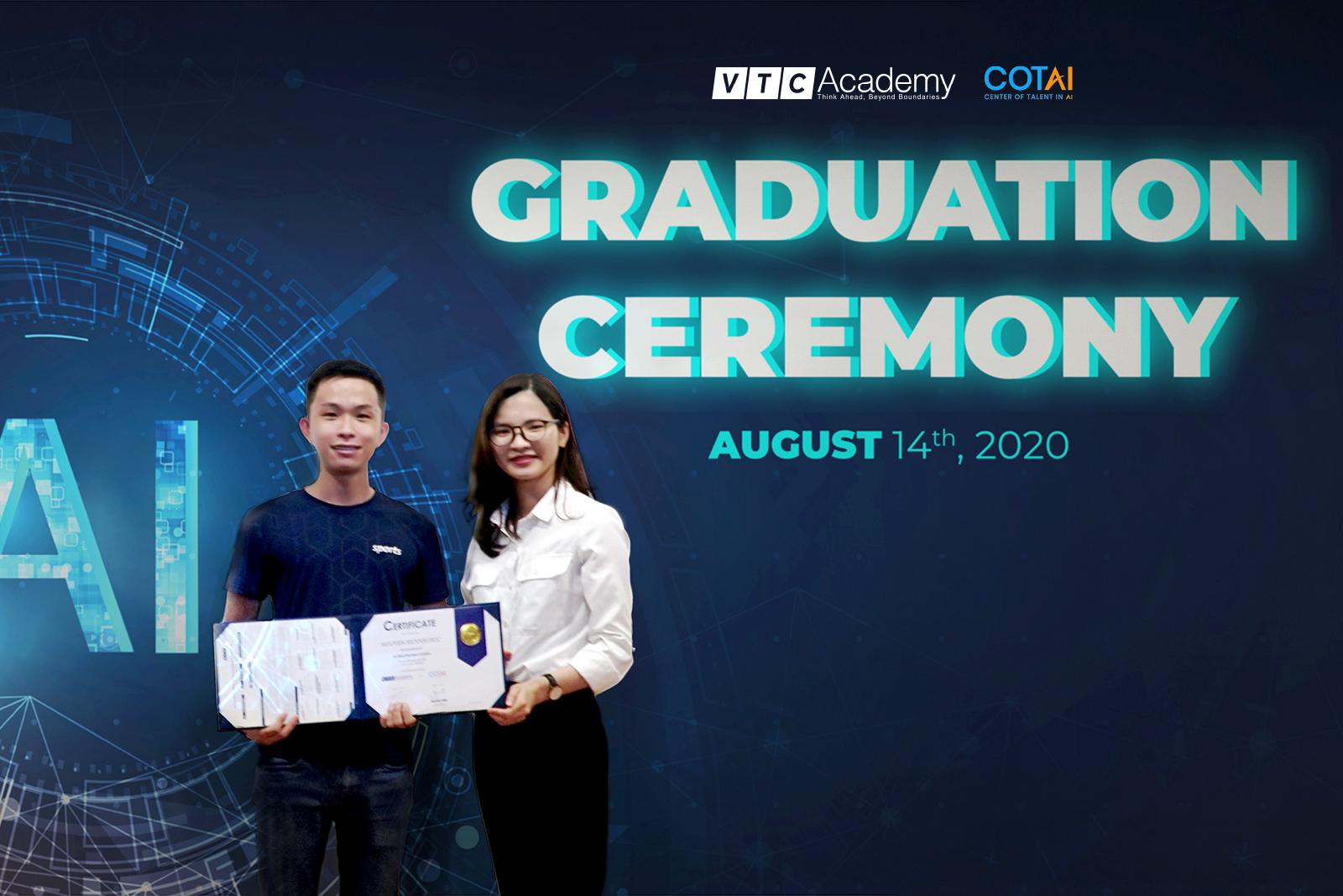 VTC Academy tổ chức lễ tốt nghiệp lớp AI Practitioner tại Hà Nội