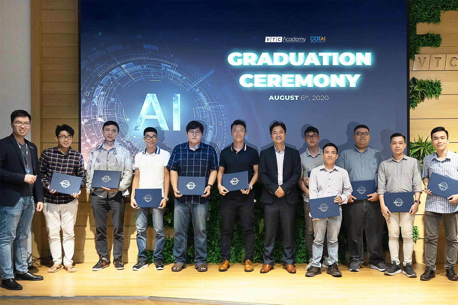 VTC Academy tổ chức lễ tốt nghiệp lớp AI Practitioner tại TP.HCM