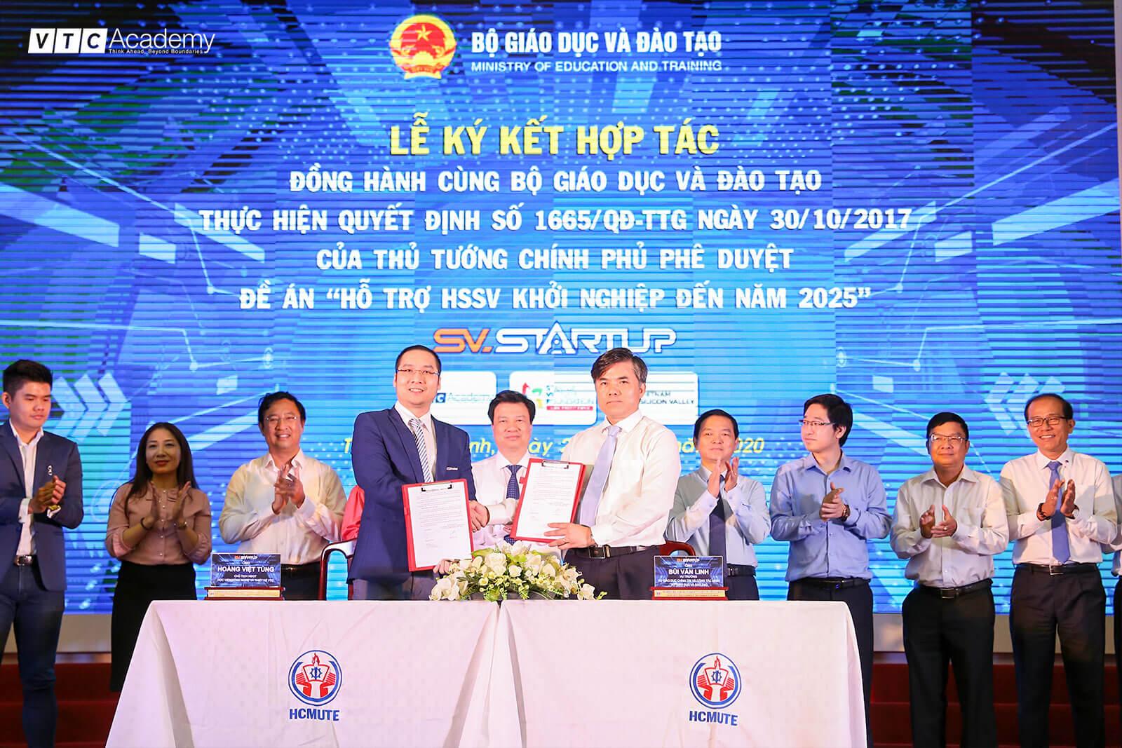 VTC Academy chính thức đồng hành cùng Bộ GDĐT đến năm 2025