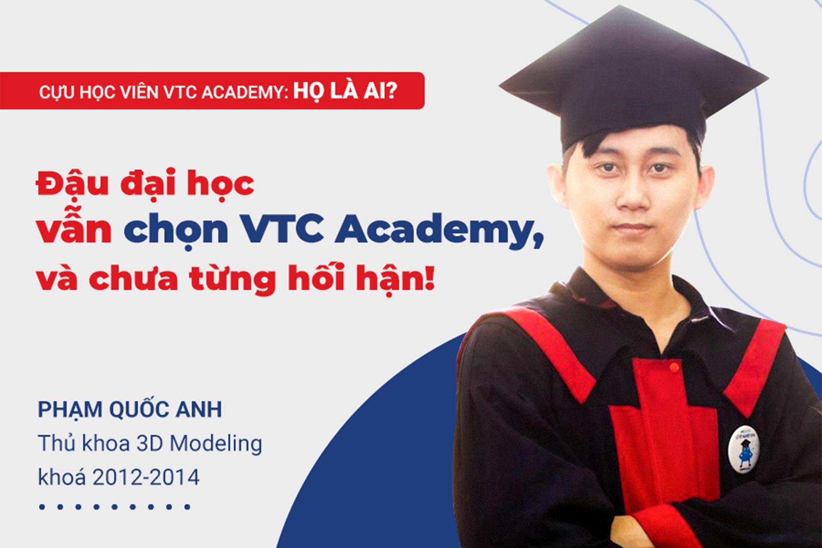 """""""Đậu đại học vẫn chọn VTC Academy và chưa từng hối hận!"""""""
