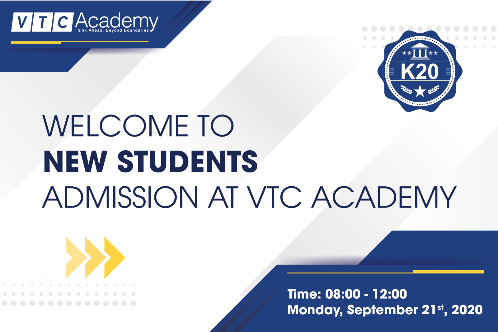"Event ""Admission Day 2020"" in Hanoi"