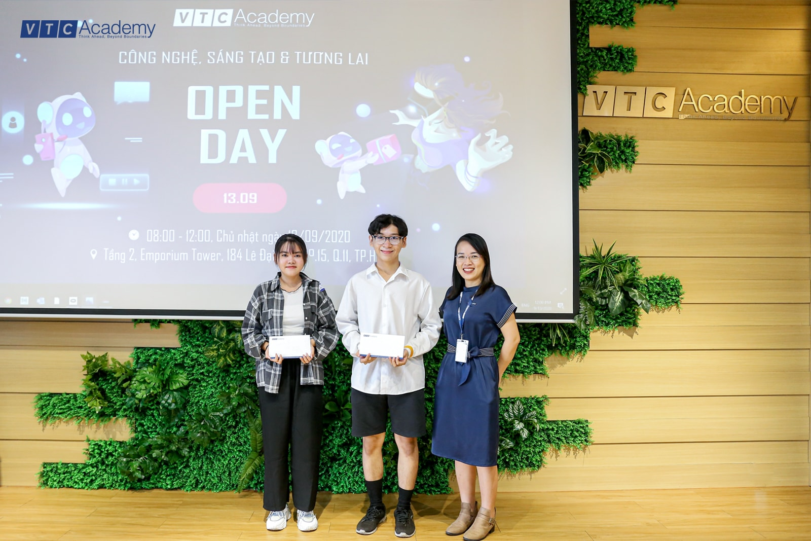 """Sự kiện """"Open Day: Công nghệ, Sáng tạo & Tương lai"""" tại TP.HCM"""