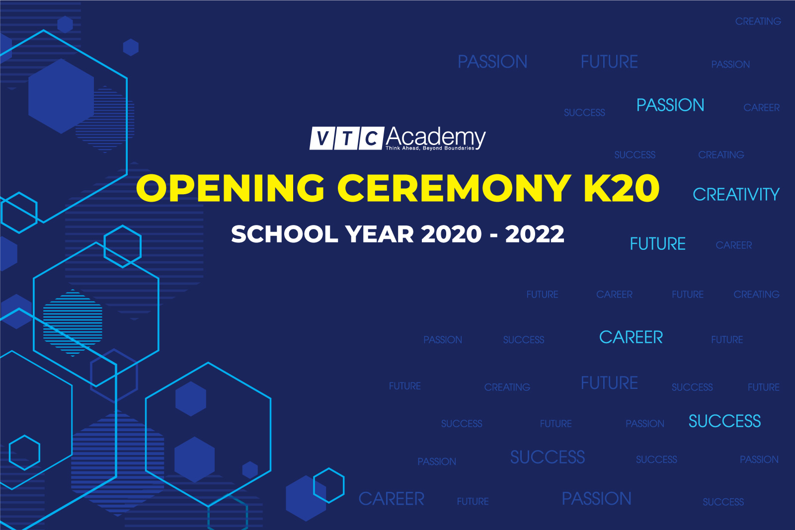 Opening Ceremony K20 | The 2020 – 2022 school year in HCMC