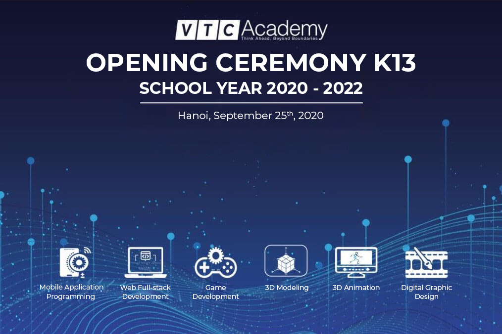 Opening Ceremony K13 | The 2020 – 2022 school year in Hanoi