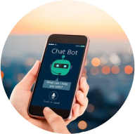 Chatbot systems which support automatic answering