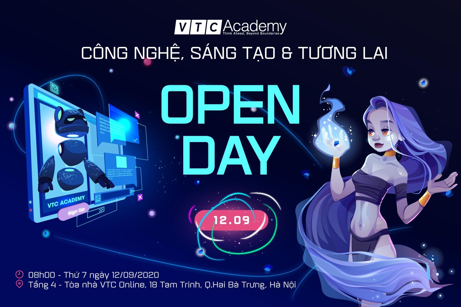 """Sự kiện """"Open Day: Công nghệ, Sáng tạo và Tương lai"""" tại Hà Nội"""