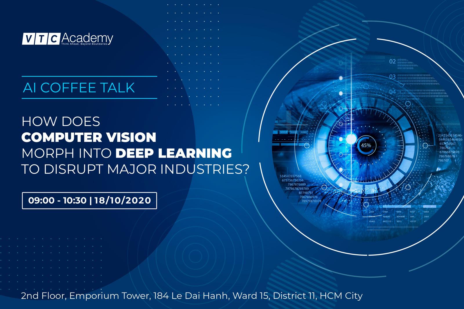 """Sự kiện """"AI Coffee Talk"""" tại TP.HCM"""