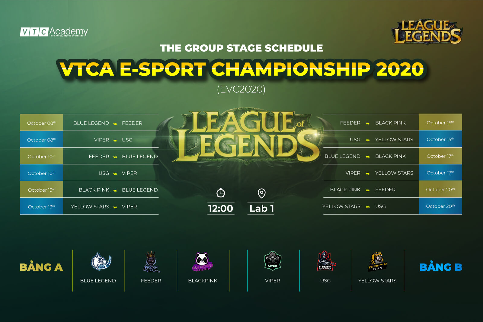 VTCA E-Sport Championship 2020 officially started