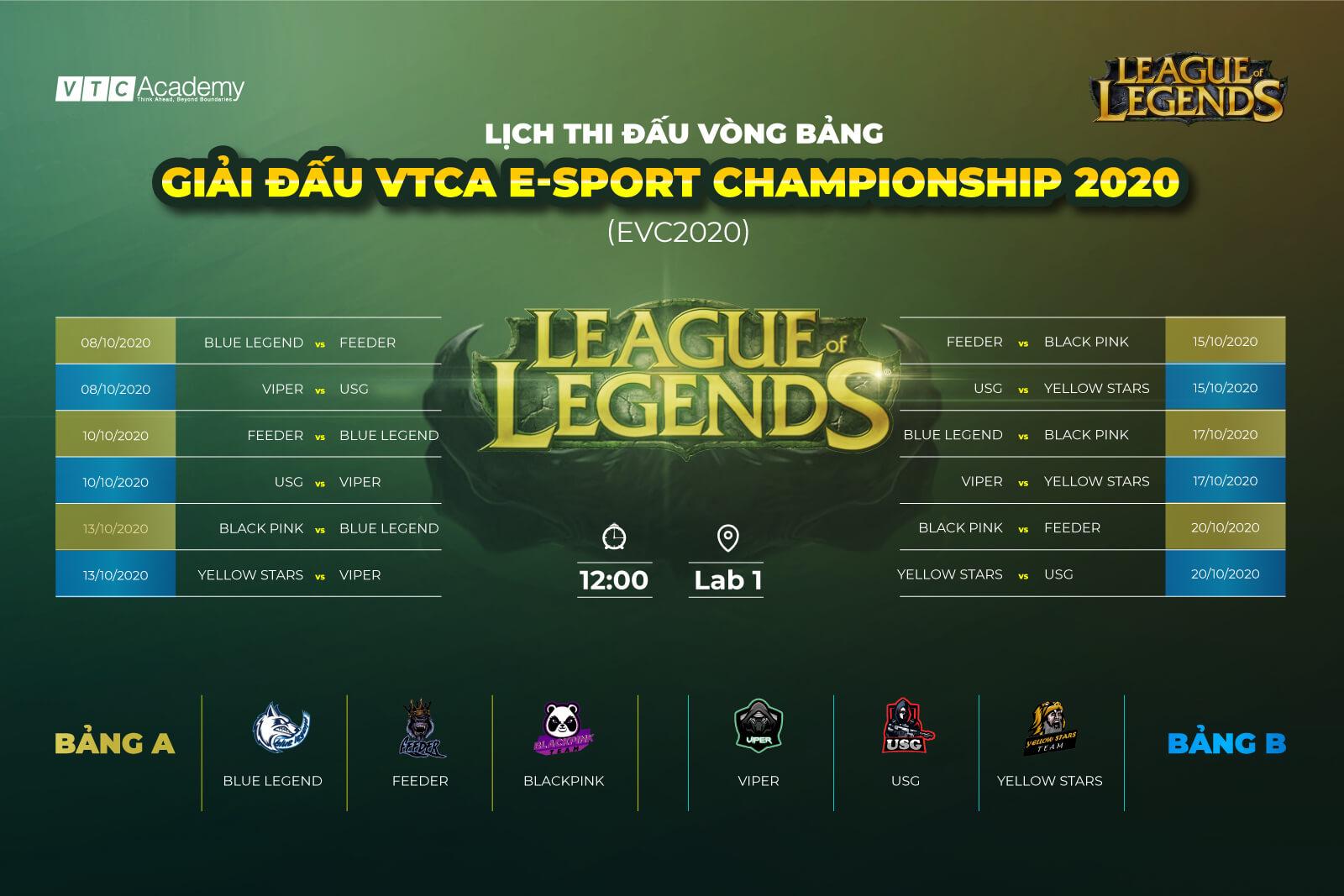 Giải đấu VTCA E-Sport Championship 2020 chính thức khởi động