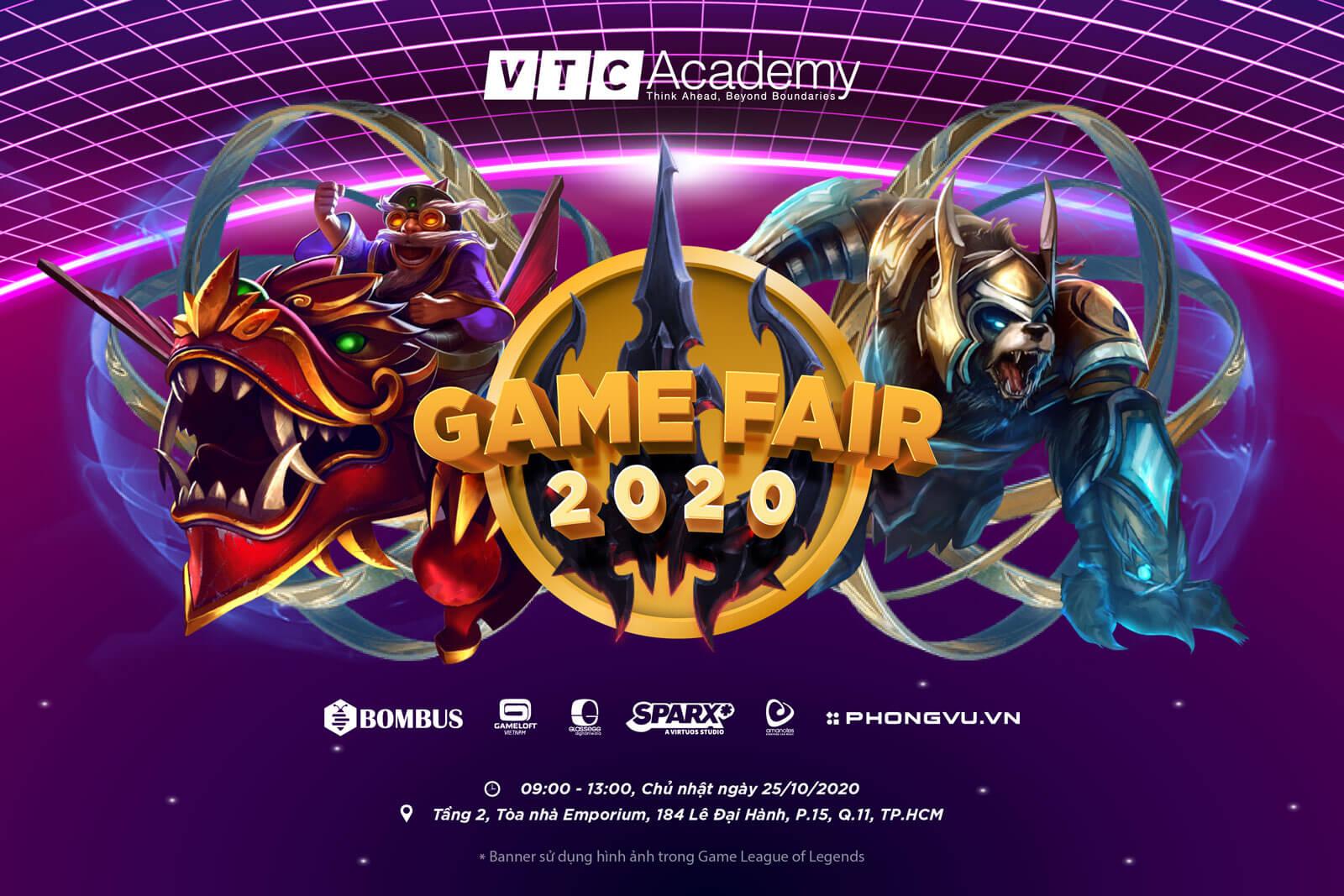 """Sự kiện """"Game Fair 2020"""" tại TP.HCM"""