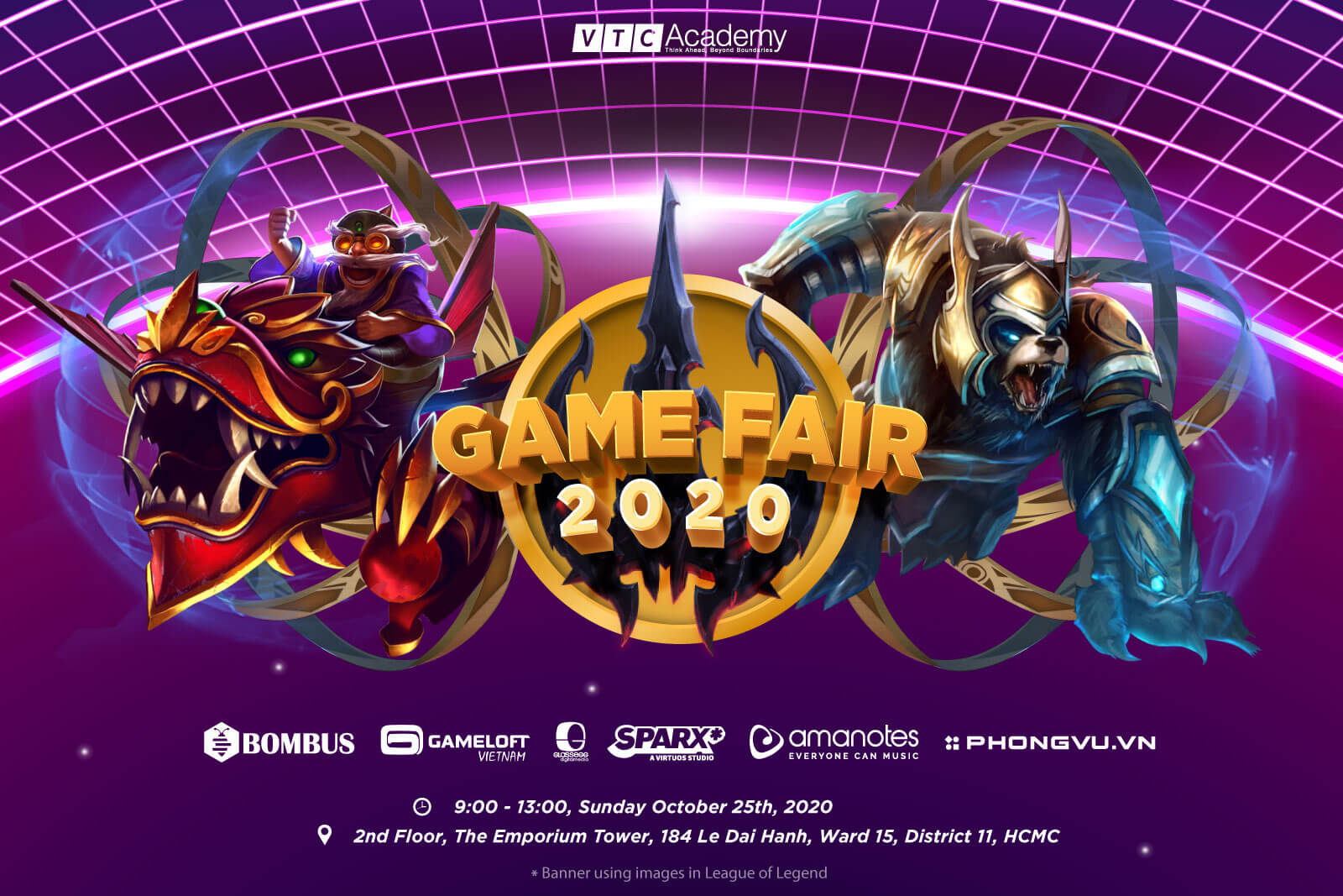 "Event ""Game Fair 2020"" at VTC Academy HCMC"