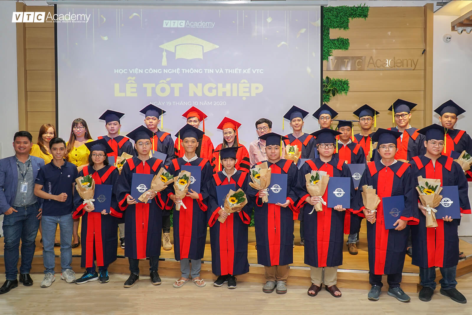 VTC Academy organizes Graduation Ceremony for students in Ho Chi Minh City