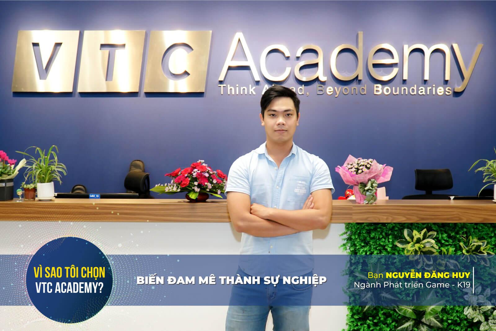 """""""Chọn VTC Academy là quyết định mình chưa bao giờ hối hận"""""""