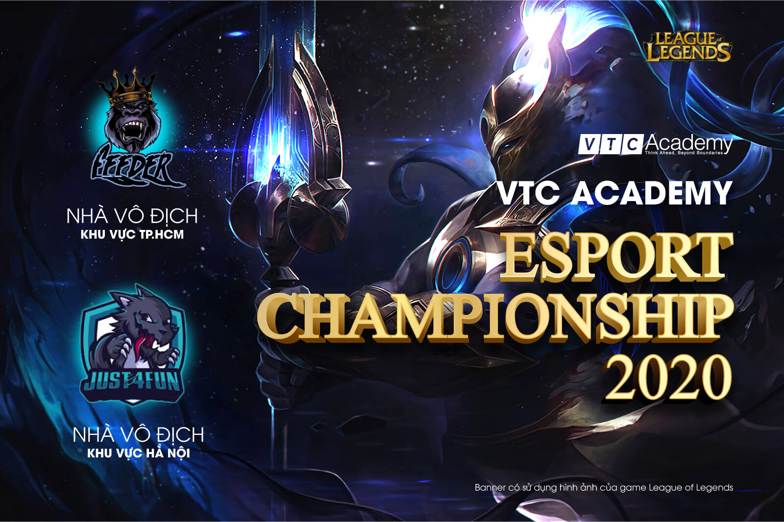 """Vòng chung kết Liên Minh Huyền Thoại """"VTC Academy Esport Championship 2020"""" khu vực Hà Nội và TP.HCM"""