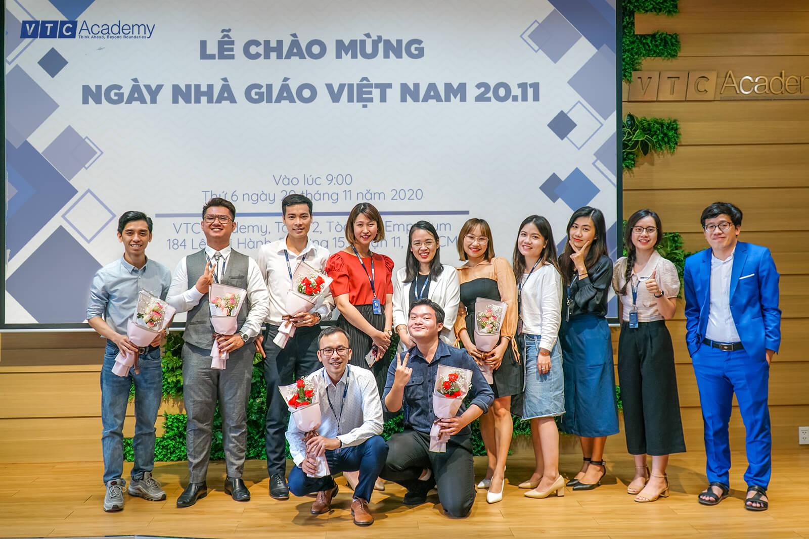 VTC Academy tổ chức nhiều hoạt động chào mừng ngày Nhà giáo Việt Nam 20/11/2020