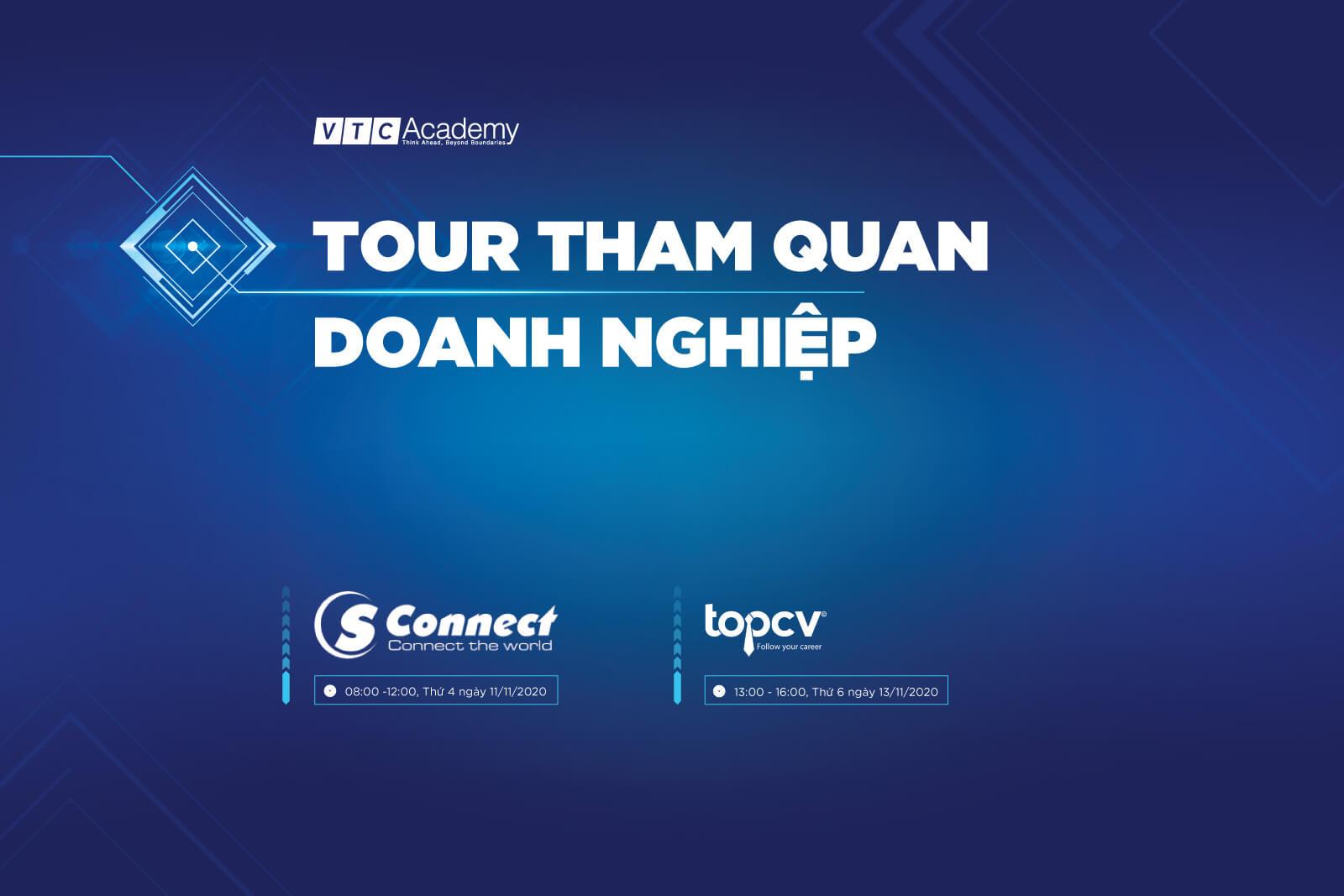 VTC Academy Hà Nội tổ chức tour tham quan doanh nghiệp trong tháng 11/2020 cho học viên