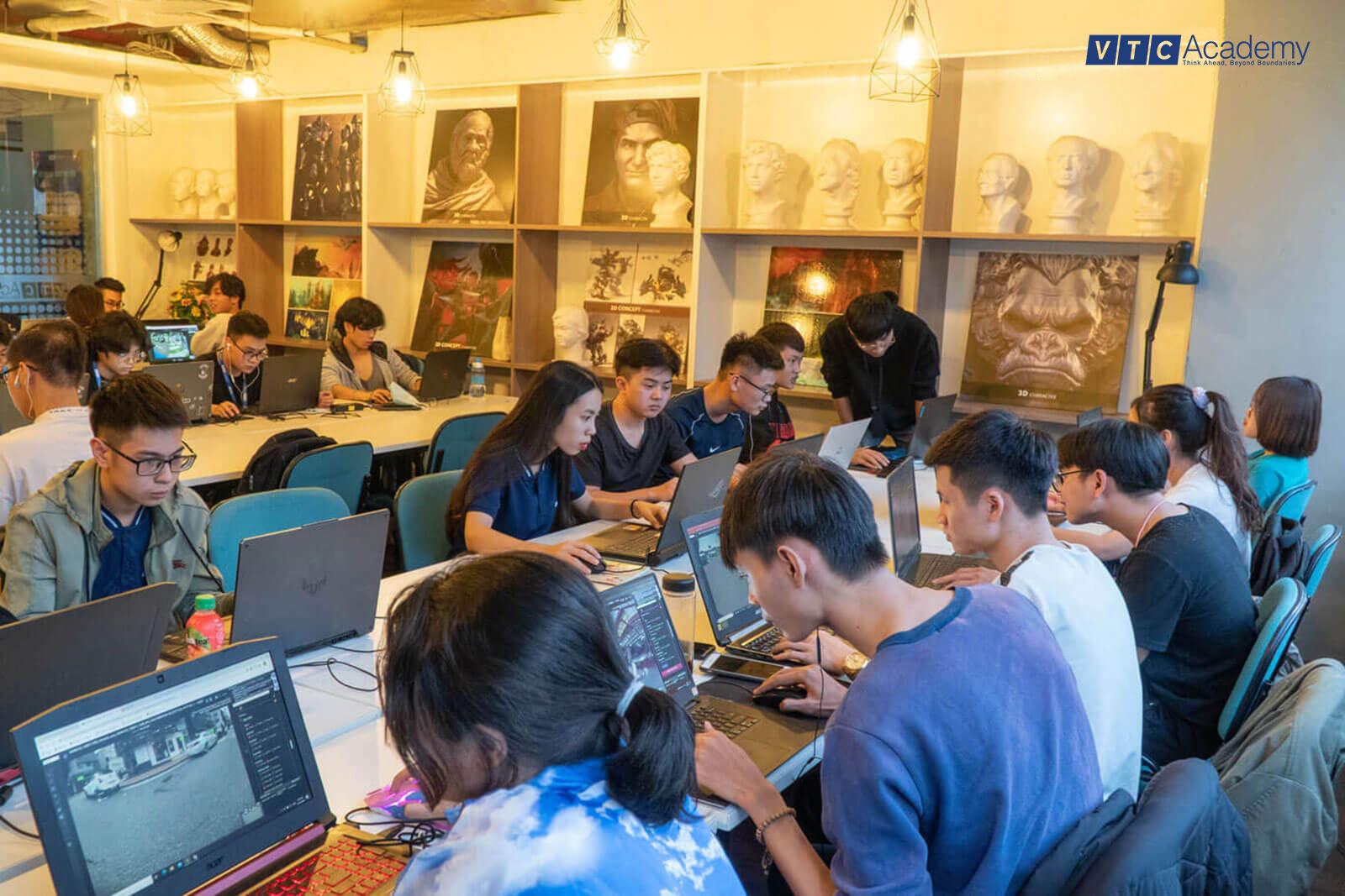 Học viên VTC Academy thực hành cùng dự án Xử lý hình ảnh ứng dụng AI