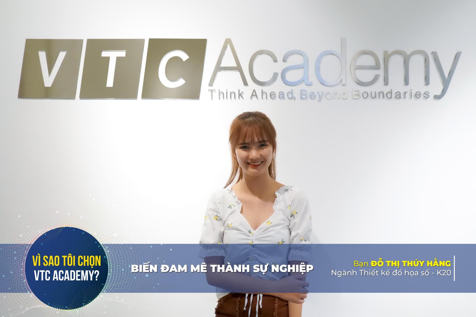 """""""VTC Academy giúp mình khám phá thêm nhiều điểm mạnh của bản thân!"""""""