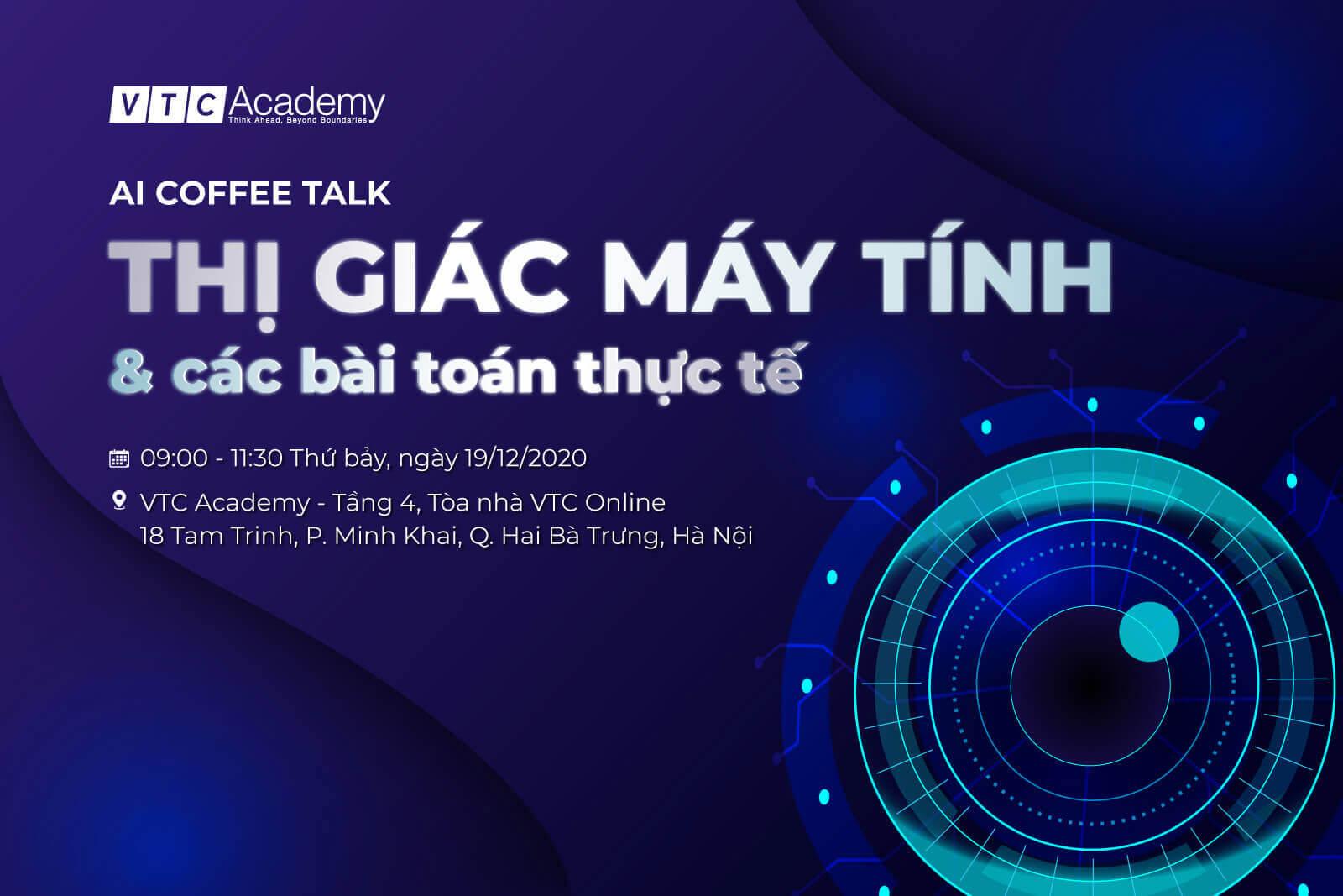 Sự kiện AI Coffee Talk về Thị giác máy tính tại Hà Nội