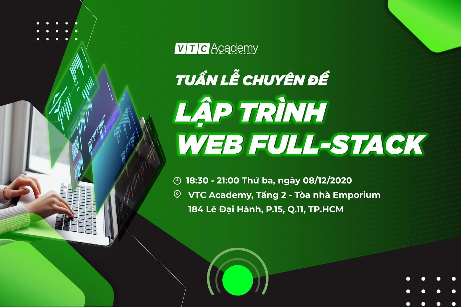 Tuần lễ chuyên đề Lập trình Web Full-stack tại TP.HCM