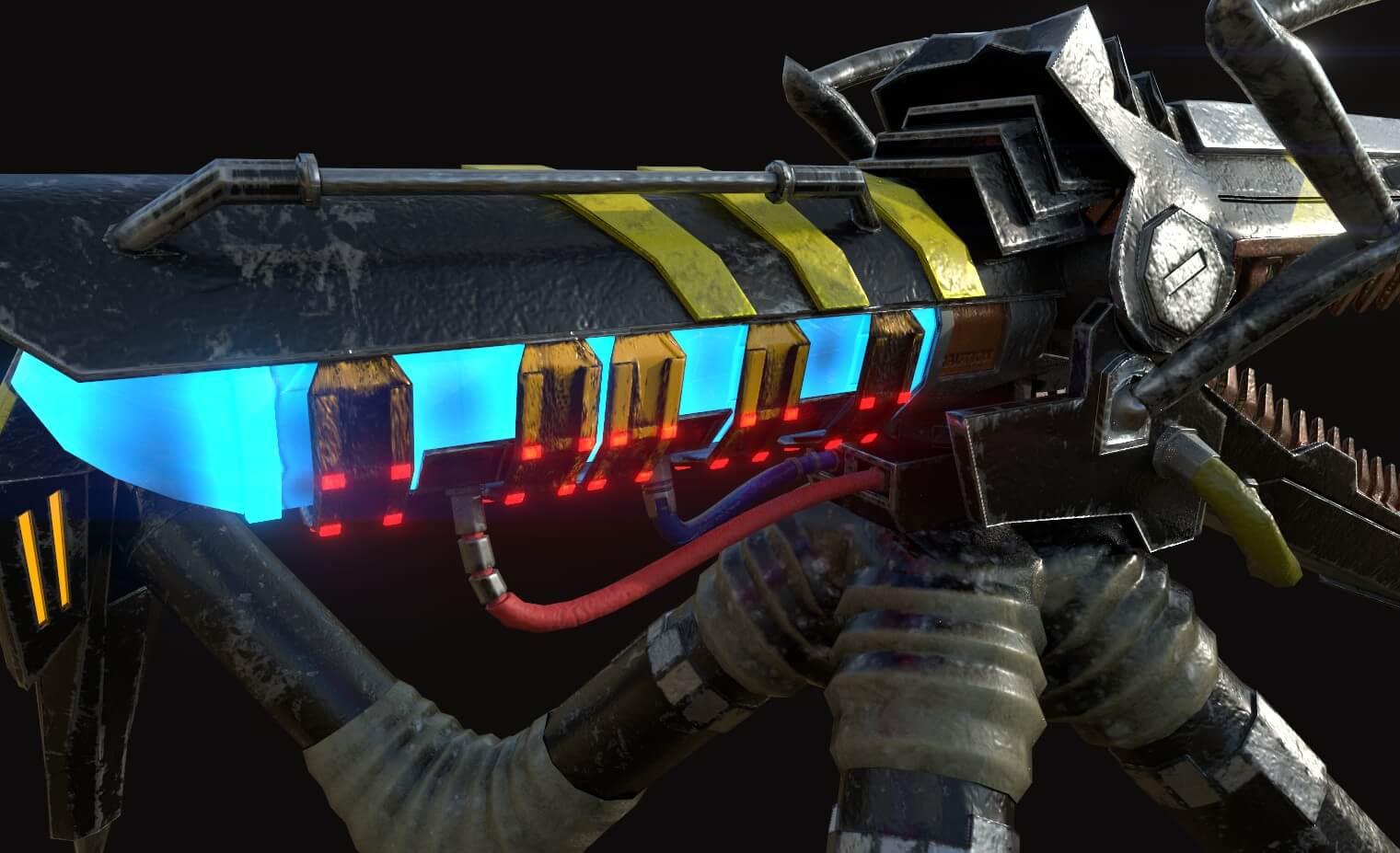 Mobile Railgun Warrior
