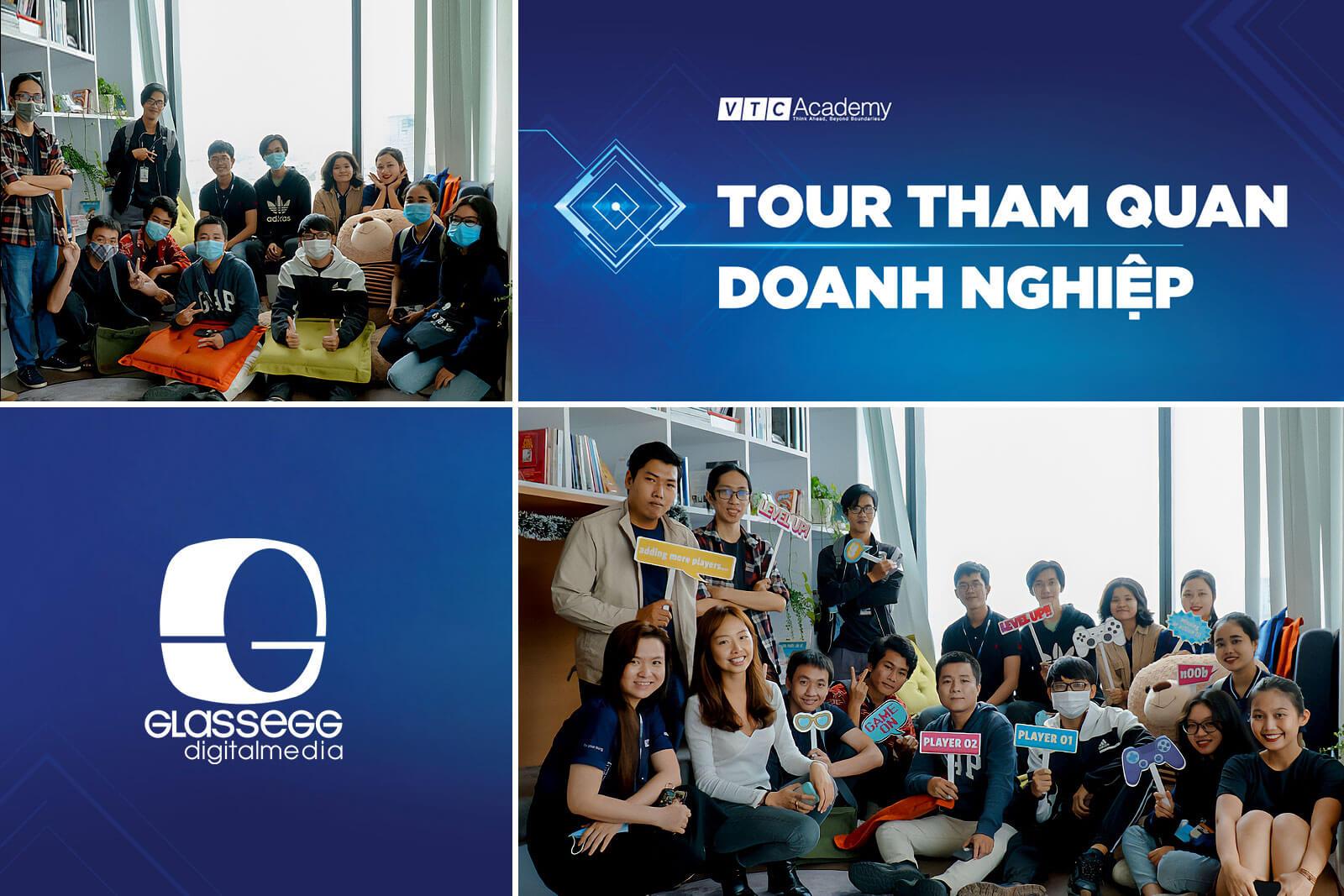 VTC Academy TP.HCM tổ chức tour tham quan doanh nghiệp trong tháng 12/2020 cho học viên