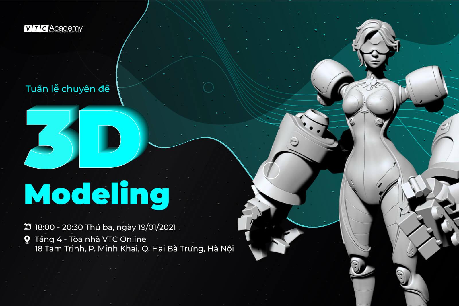 Tuần lễ chuyên đề Dựng hình 3D tại Hà Nội