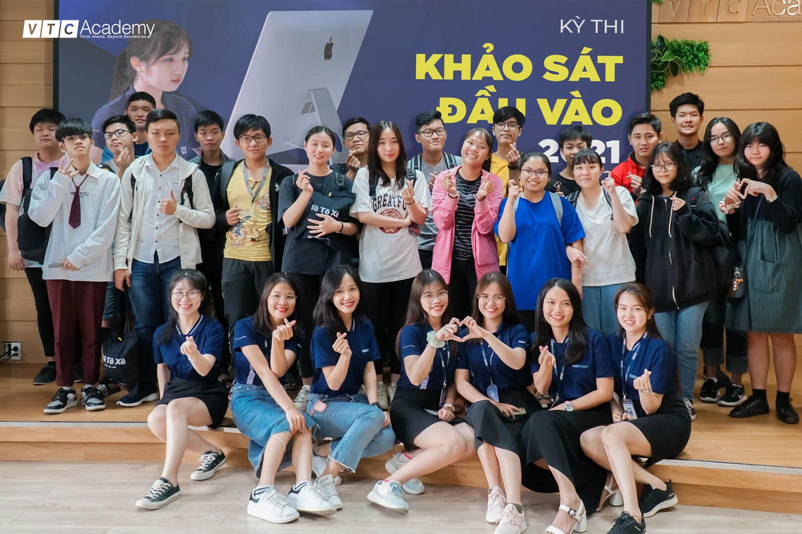 VTC Academy tổ chức kỳ thi khảo sát đầu vào năm 2021 tại TP.HCM