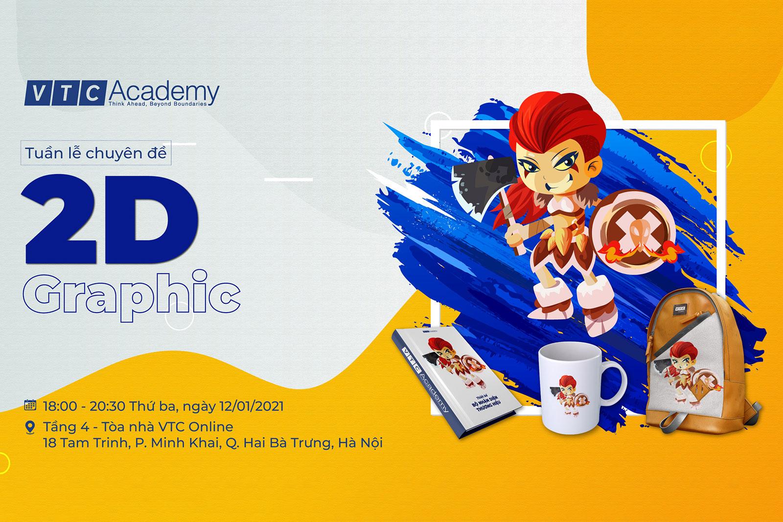 Tuần lễ chuyên đề Thiết kế đồ họa 2D tại Hà Nội