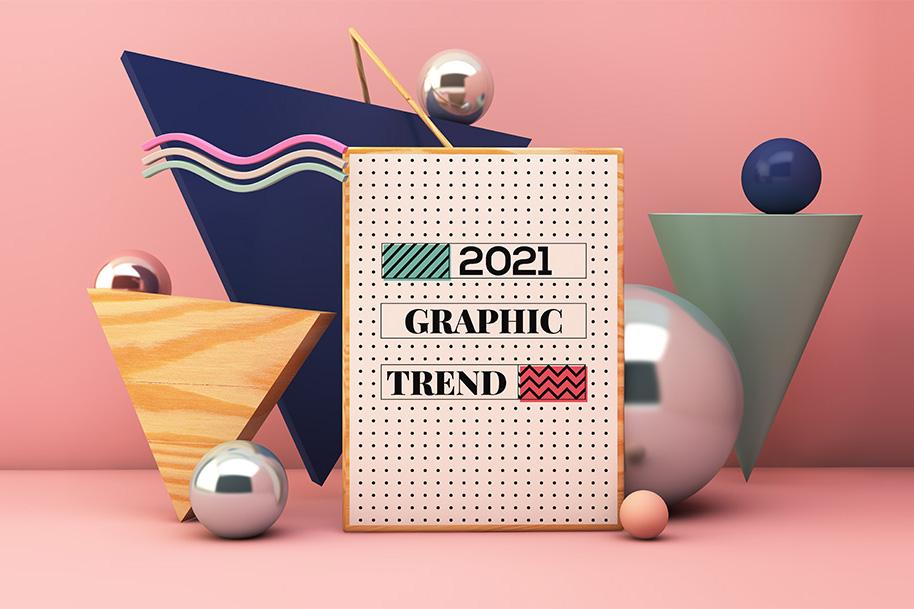 Xu hướng thiết kế đồ họa năm 2021: Cuộc cách mạng mỹ cảm sâu sắc