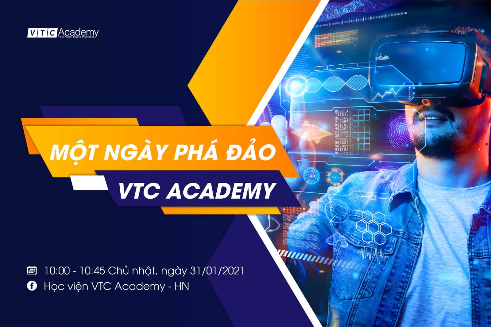 """Talkshow trực tuyến """"Một ngày phá đảo VTC Academy"""""""